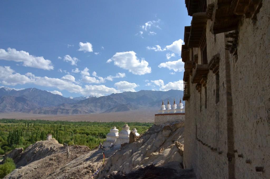 Blick vom Königspalast Shey in´s  Industal