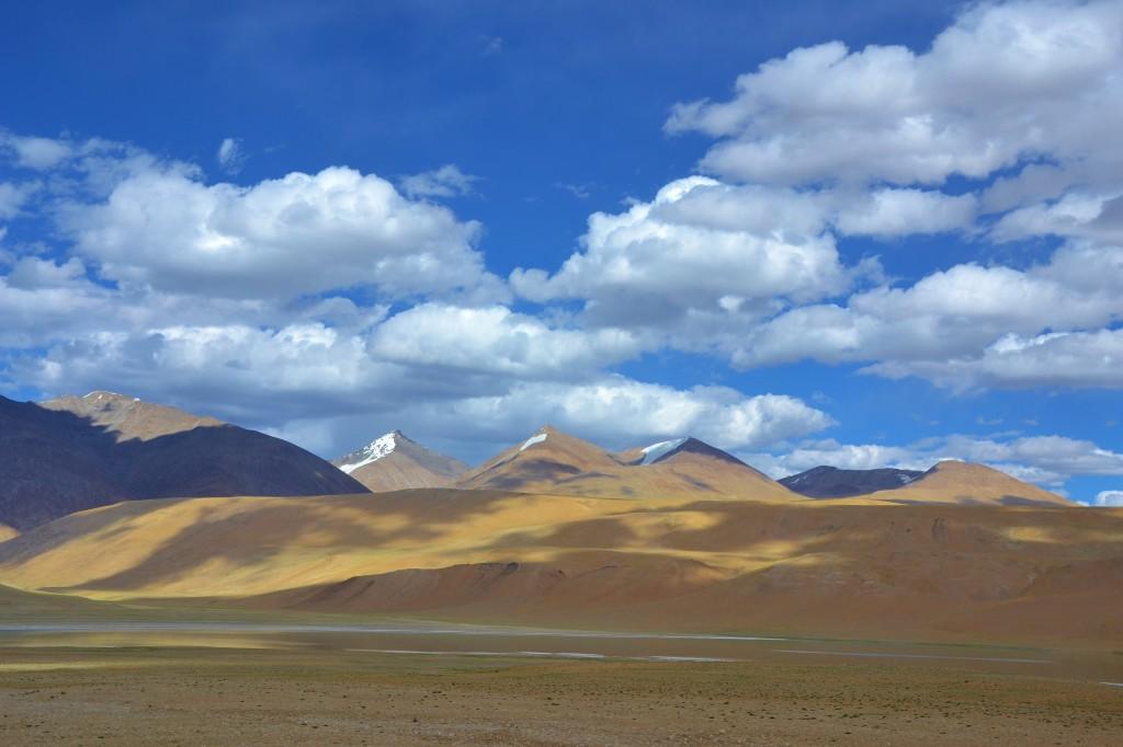 Auf dem Weg  an die tibetanische Grenze.